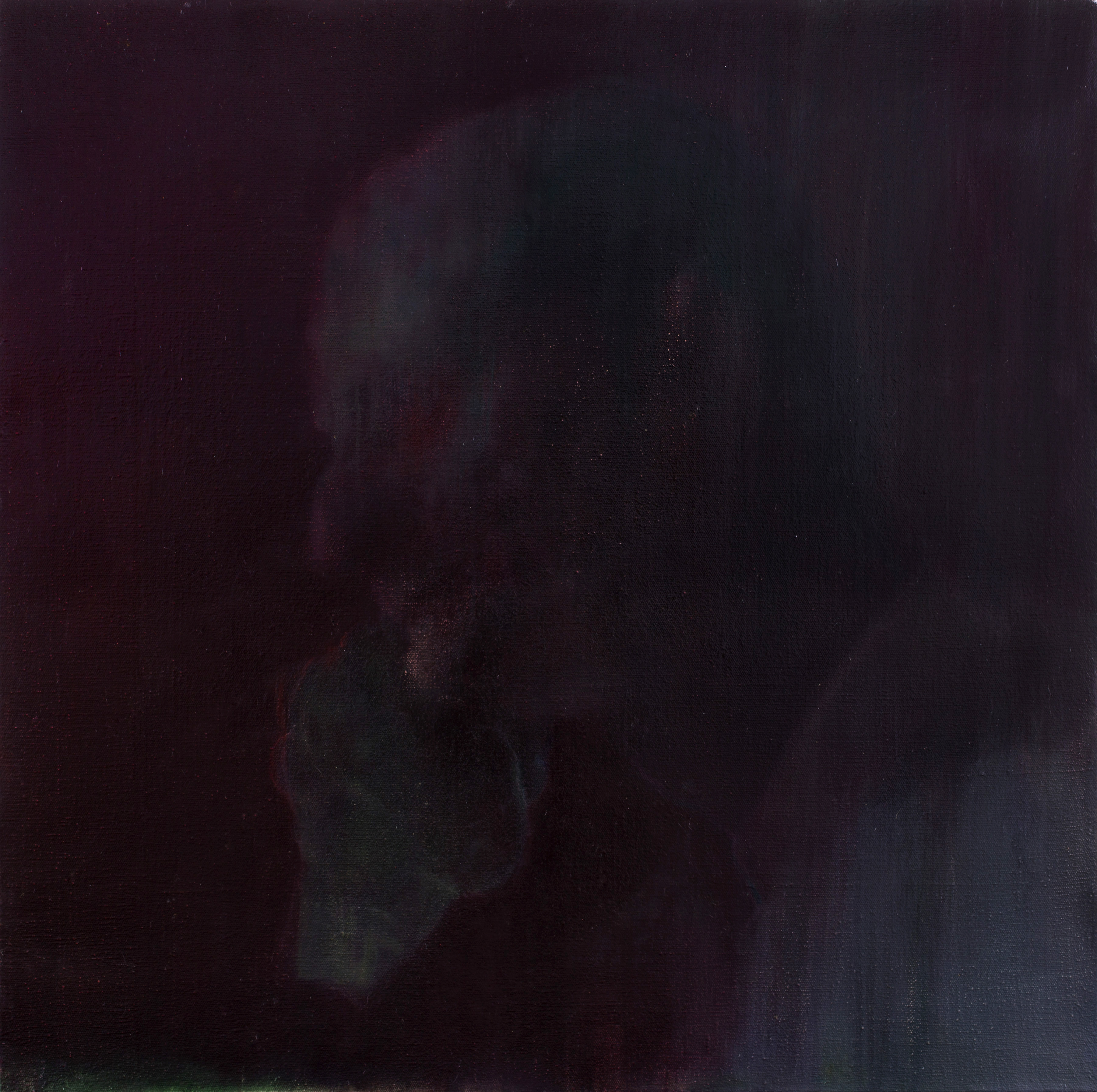 坏人和洋人之四 120x120cm oil on canvas 2015